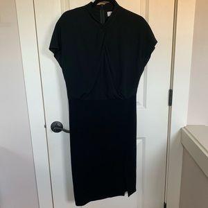 MM. Lafleur New York Size 8 Black Dress
